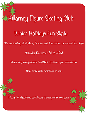 Winter Holidays Fun Skate